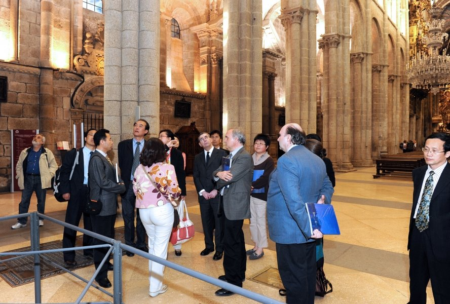 Imaxes visita Catedral.
